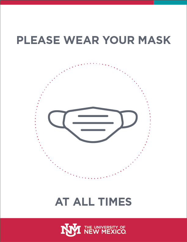 Please Wear A Mask Sign